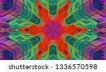 geometric design  isometric... | Shutterstock .eps vector #1336570598