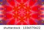 geometric design  isometric... | Shutterstock .eps vector #1336570622