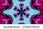 geometric design  isometric... | Shutterstock .eps vector #1336570625
