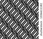 design seamless monochrome... | Shutterstock .eps vector #1336611182
