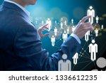 business administrator in...   Shutterstock . vector #1336612235