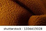 close up of fleece fabric... | Shutterstock . vector #1336615028