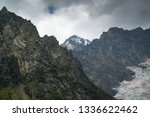 majestic nature in mestia ... | Shutterstock . vector #1336622462