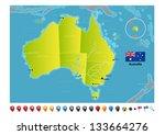 Australia - stock vector