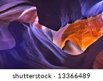 shone orange and violet colors... | Shutterstock . vector #13366489