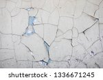 vintage old wall with crack... | Shutterstock . vector #1336671245
