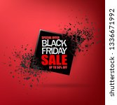 black friday sale abstract... | Shutterstock .eps vector #1336671992