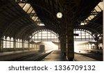 old railway station indoor view ... | Shutterstock . vector #1336709132