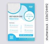 agency business flyer design... | Shutterstock .eps vector #1336724492