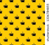 tea cup and saucer pattern... | Shutterstock .eps vector #1336784855