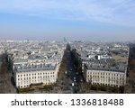 paris  march 13  2019  view... | Shutterstock . vector #1336818488