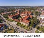 aerial view of ponce de leon... | Shutterstock . vector #1336841285