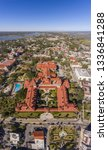 aerial view of ponce de leon... | Shutterstock . vector #1336841288