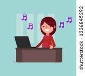 business people vector... | Shutterstock .eps vector #1336845392