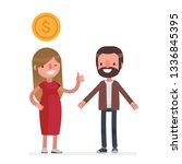business people vector... | Shutterstock .eps vector #1336845395
