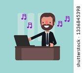 business people vector... | Shutterstock .eps vector #1336845398