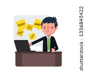 business people vector... | Shutterstock .eps vector #1336845422
