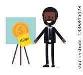 business people vector... | Shutterstock .eps vector #1336845428