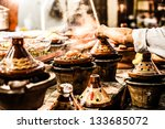 selection of very colorful... | Shutterstock . vector #133685072