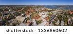 aerial view of ponce de leon... | Shutterstock . vector #1336860602