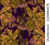 watercolor seamless pattern... | Shutterstock . vector #1336886678