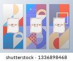 design templates for flyers ... | Shutterstock .eps vector #1336898468