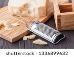 parmesan cheese. grated...   Shutterstock . vector #1336899632