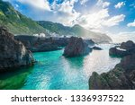 coastline at porto moniz ... | Shutterstock . vector #1336937522