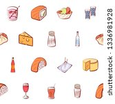 food images. background for... | Shutterstock .eps vector #1336981928