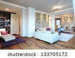 contemporary living room... | Shutterstock . vector #133705172