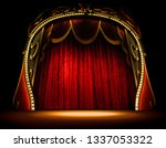 empty old opera gala theater... | Shutterstock . vector #1337053322