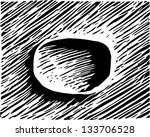 black and white vector... | Shutterstock .eps vector #133706528