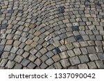 cobble stone structure   Shutterstock . vector #1337090042