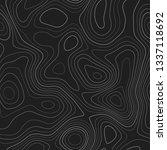 topographic map background.... | Shutterstock .eps vector #1337118692