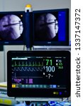 monitor vital sign and ekg...   Shutterstock . vector #1337147372