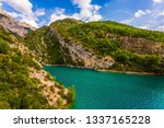 the provence alps  france.... | Shutterstock . vector #1337165228