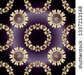 cute texture. seamless... | Shutterstock . vector #1337213168