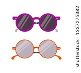 woman summer sunglasses icon.... | Shutterstock .eps vector #1337275382
