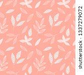 spring seamless pattern | Shutterstock .eps vector #1337279072