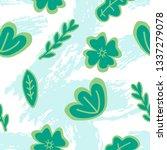 spring seamless pattern | Shutterstock .eps vector #1337279078