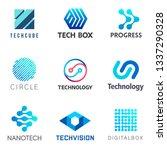 set of tech vector design... | Shutterstock .eps vector #1337290328
