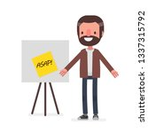 business people vector... | Shutterstock .eps vector #1337315792