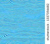 vector blue striped pattern.... | Shutterstock .eps vector #1337356682