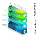box to success number options... | Shutterstock .eps vector #1337357525