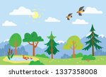 child like drawn book... | Shutterstock .eps vector #1337358008