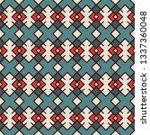 ethnic  tribal seamless surface ... | Shutterstock .eps vector #1337360048
