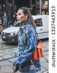milan  italy   february 22 ... | Shutterstock . vector #1337465915