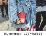 milan  italy   february 22 ... | Shutterstock . vector #1337465918