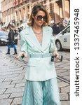 milan  italy   february 22 ... | Shutterstock . vector #1337465948