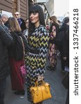 milan  italy   february 22 ... | Shutterstock . vector #1337466218